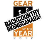 Backcountry Skiing Canada Gear of the year 2012