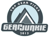 Gear Junkie Top Pick 2013