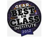 Gear Institute 2012 Best In Class